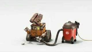 WALL-E Vacuum cleaner trailer