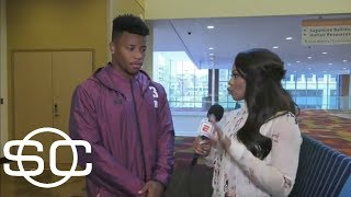 Saquon Barkley makes his case for why the Giants should draft him  | SportsCenter | ESPN