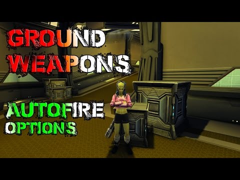 Enable ground weapons autofire mode(Tutorial) - Star Trek Online