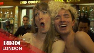 Naked pint: London's nude pub  - BBC London