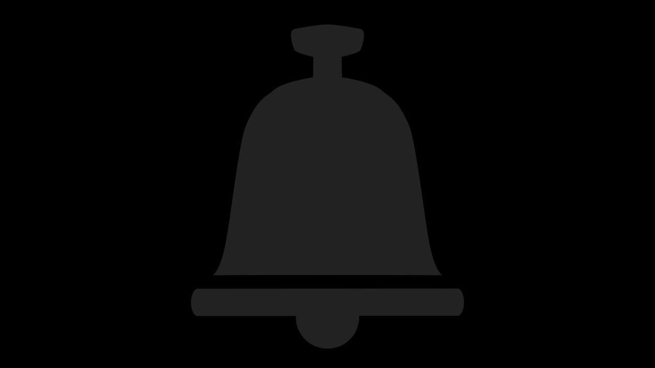 Картинка колокольчик ютуба на прозрачном фоне