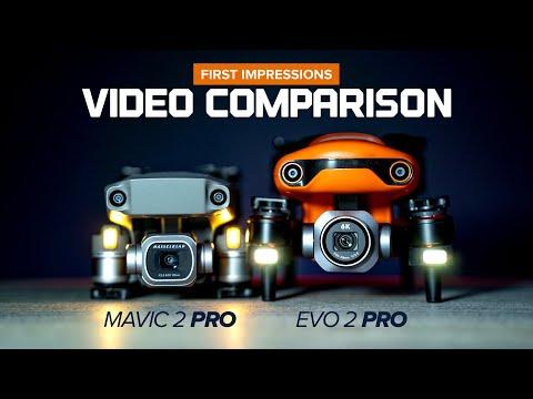 Autel Evo 2 Pro and DJI Mavic 2 Pro Video Comparison