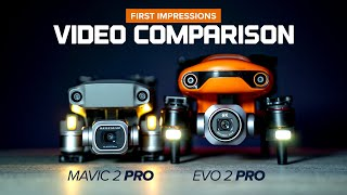 Autel Evo 2 Pro and DJI Mavic 2 Pro Video Comparison