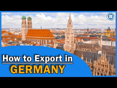 How to Export in Germany    Export Import Business In India