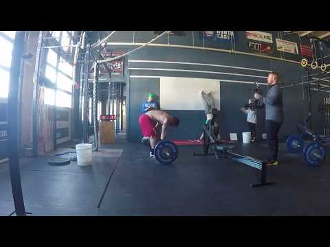 CROSSFIT OPEN 17.4 - MATHEW FRASER (327 Reps)