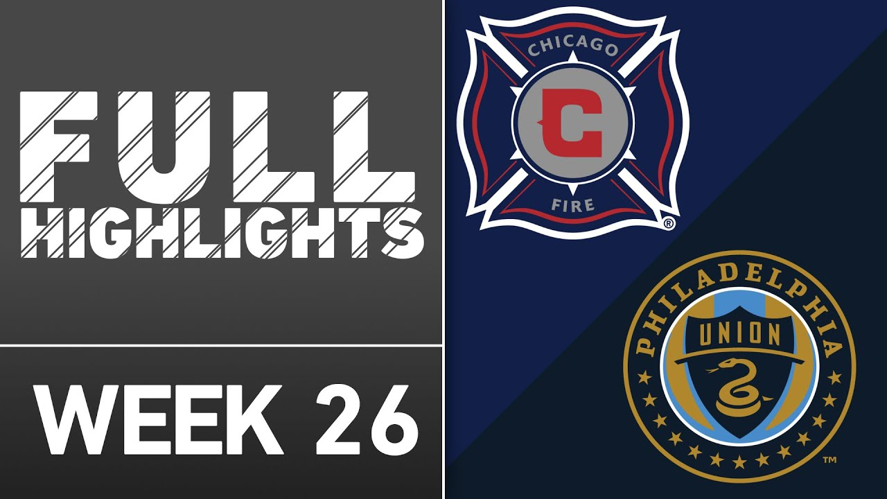 Highlights chicago fire 3 0 philadelphia union youtube highlights chicago fire 3 0 philadelphia union biocorpaavc Images