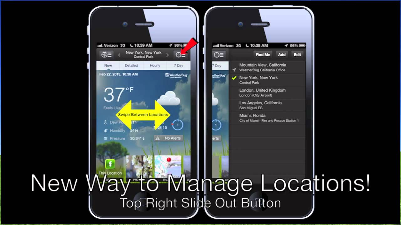 The NEW WeatherBug for iPhone v  3 0