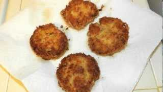 Crab Cakes Recipe - Crispy Golden Brown