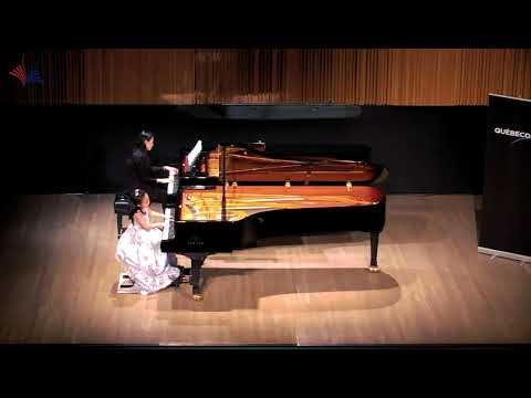 2018 CMC Final 7 Years Old Nini Lu Plays  Bach Concerto in F Minor