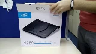 распаковка 'Подставка для ноутбука DeepCool N280' из rozetka.com.ua #мояраспаковка