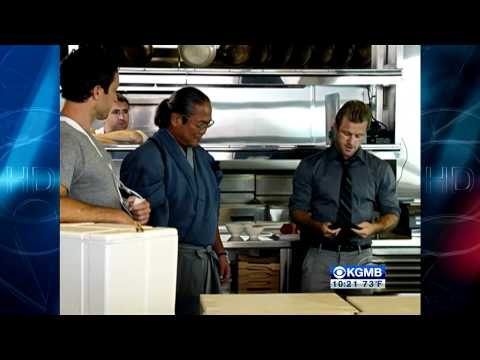 Chef Morimoto's appearance on Hawaii Five0