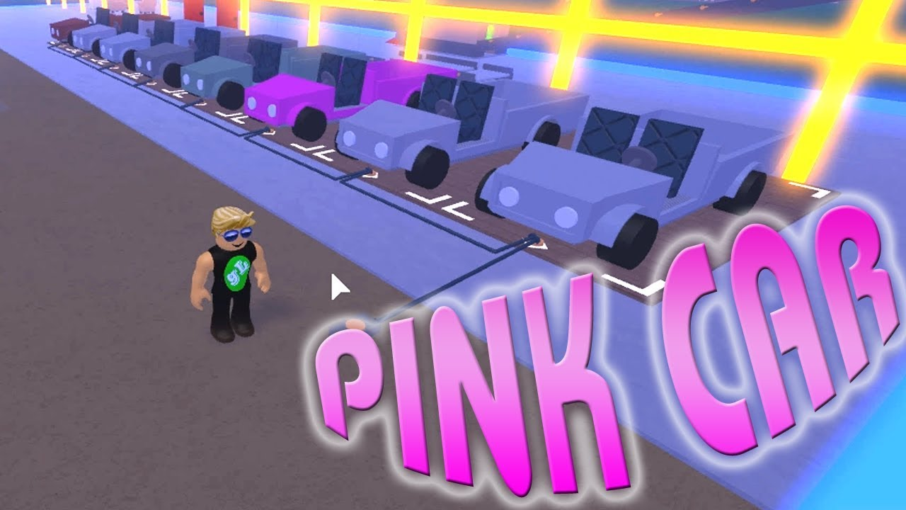 Lumber Tycoon 2 How To Get Pink Car Youtube