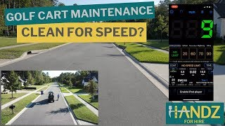 HOW BASIC GOLF CART MAINTENANCE AFFECTS SPEED