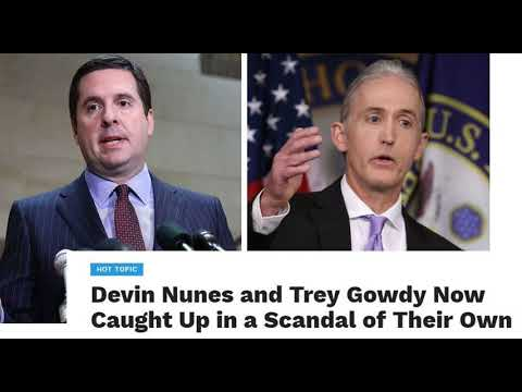 Image result for PHOTOS OF TREY GOWDY DEVIN NUNES