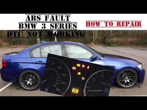 BMW 3 SERIES E90 ABS Warning Light On  Not ABS RINGS OR SENSORS HOW TO  REPAIR