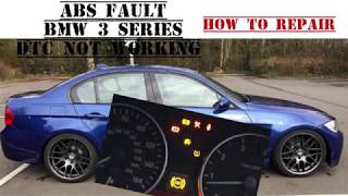 BMW 3 SERIES E90 ABS Warning Light On. Not ABS RINGS OR SENSORS HOW TO REPAIR