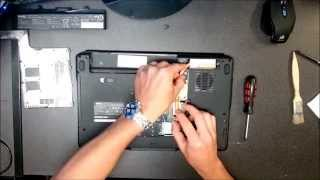 Dell Inspiron Pp41l Vostro Xps M170 M1530 Fan Cleaning