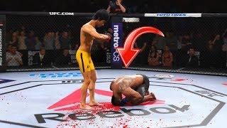 Стиль и Нокауты БРЮС ЛИ покорили весь мир и заставили чемпионов UFC молиться