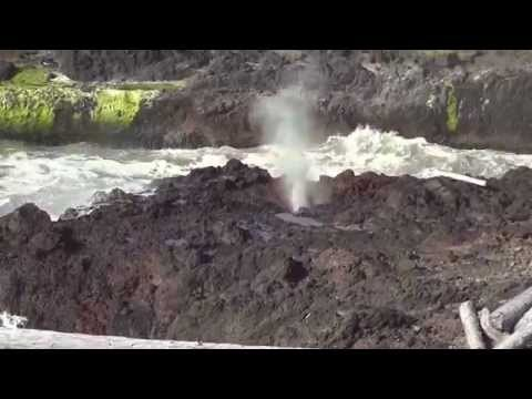 Spouting Horn @ Cook's Chasm (Yachats, OR)