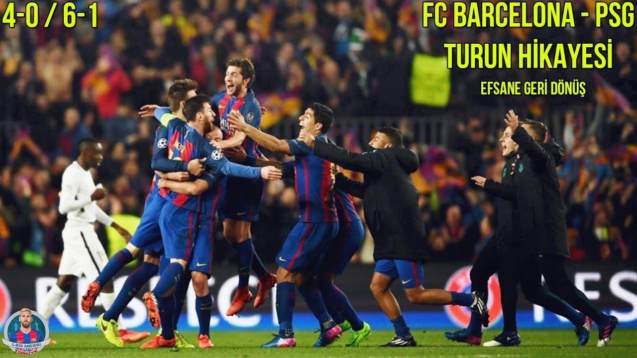 FC Barcelona - PSG | TURUN HİKAYESİ | 4-0 & 6-1 | Efsane Geri Dönüş • HD