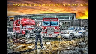 Roblox Edmonton Fire & Rescue New Shift Map First Look Tour