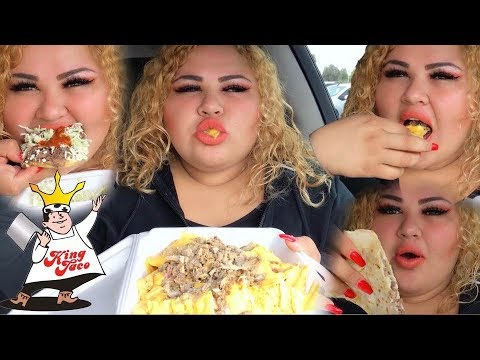 Trying King Taco for the first Time/MUKBANG