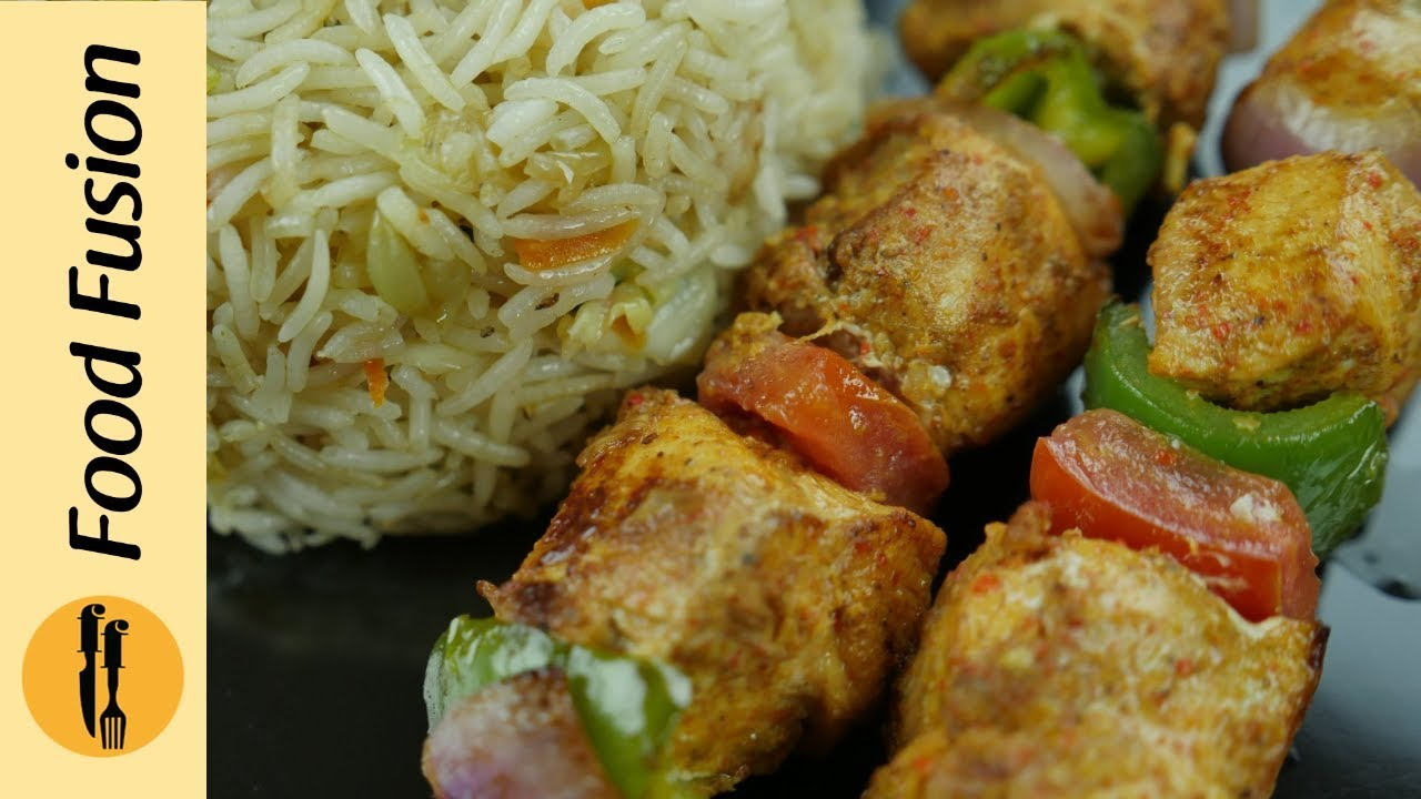 Chicken shashlik recipe by food fusion youtube chicken shashlik recipe forumfinder Gallery