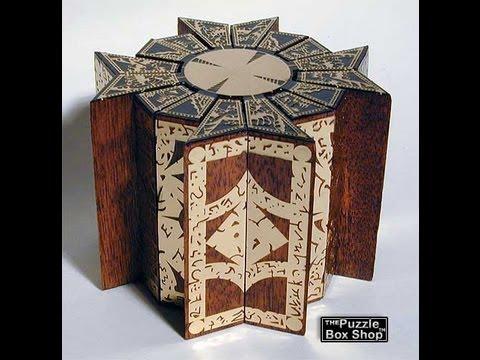 New Movable Hellraiser Puzzle Box Mahogany & Brass   YouTube