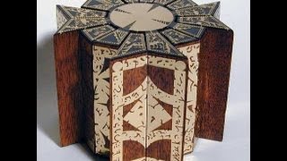 New Movable Hellraiser Puzzle Box Mahogany & Brass
