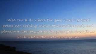 Tim McGraw - Where The Green Grass Grows (with lyrics)