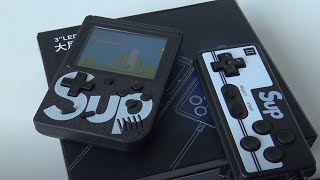 Fc Retro Handheld   400 In 1 Sup   8bit Gameboy Unboxing Review