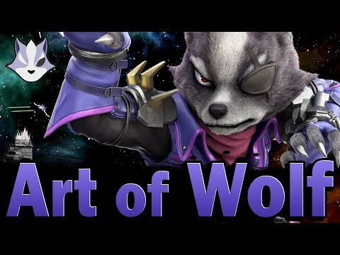 Smash Ultimate: Art Of Wolf