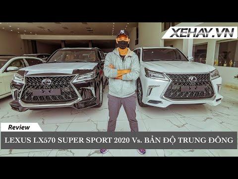 Lexus LX570 Super Sport 2020 vs Bản độ Trung Đông | XE HAY