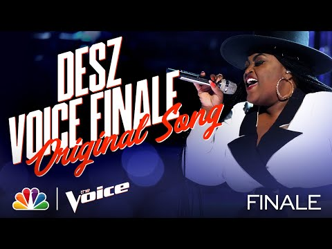 "Desz Sings Her Original Song ""Holy Ground"" - The Voice Live Finale Part 1 2020"
