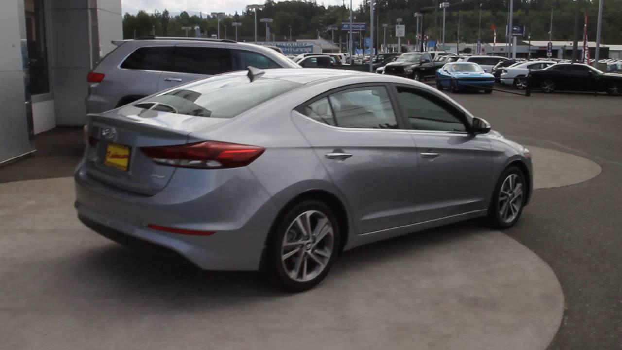 2017 Hyundai Elantra >> 2017 Hyundai Elantra Limited | Shale Gray Metallic | HH036739 | Mt Vernon | Skagit | - YouTube