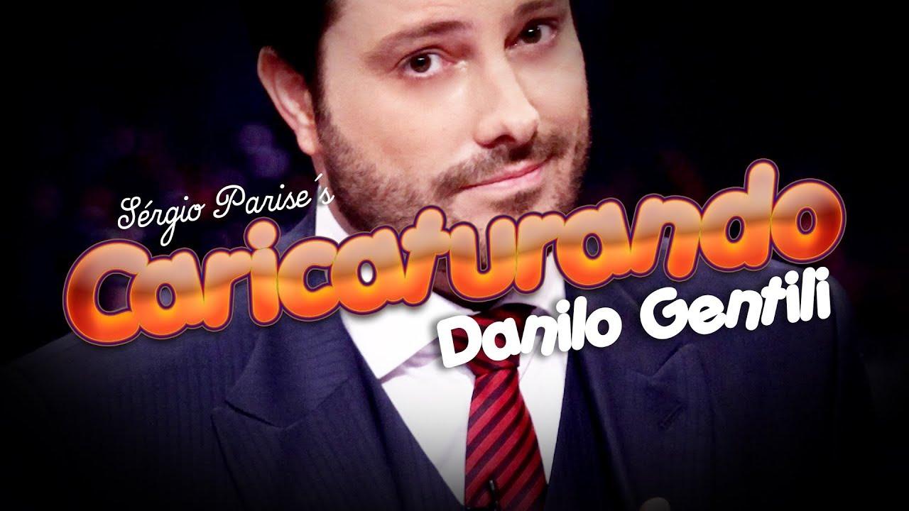 Danilo Gentili responde! 😎🗣️📺 CARICATURANDO + 5 perguntas