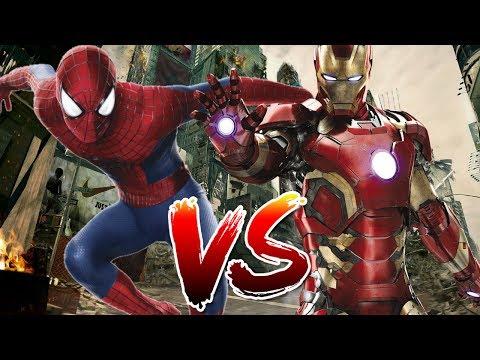Spider-Man VS Iron Man   Who Wins?