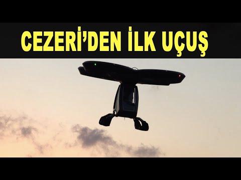 Türkiye uçan araba yarışında: Cezeri gökyüzünde - The first flight out of the flying car - Baykar