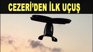 Türkiye uçan araba yarışında: Cezeri gökyüzünde - The first flight out of the flying car - Baykar