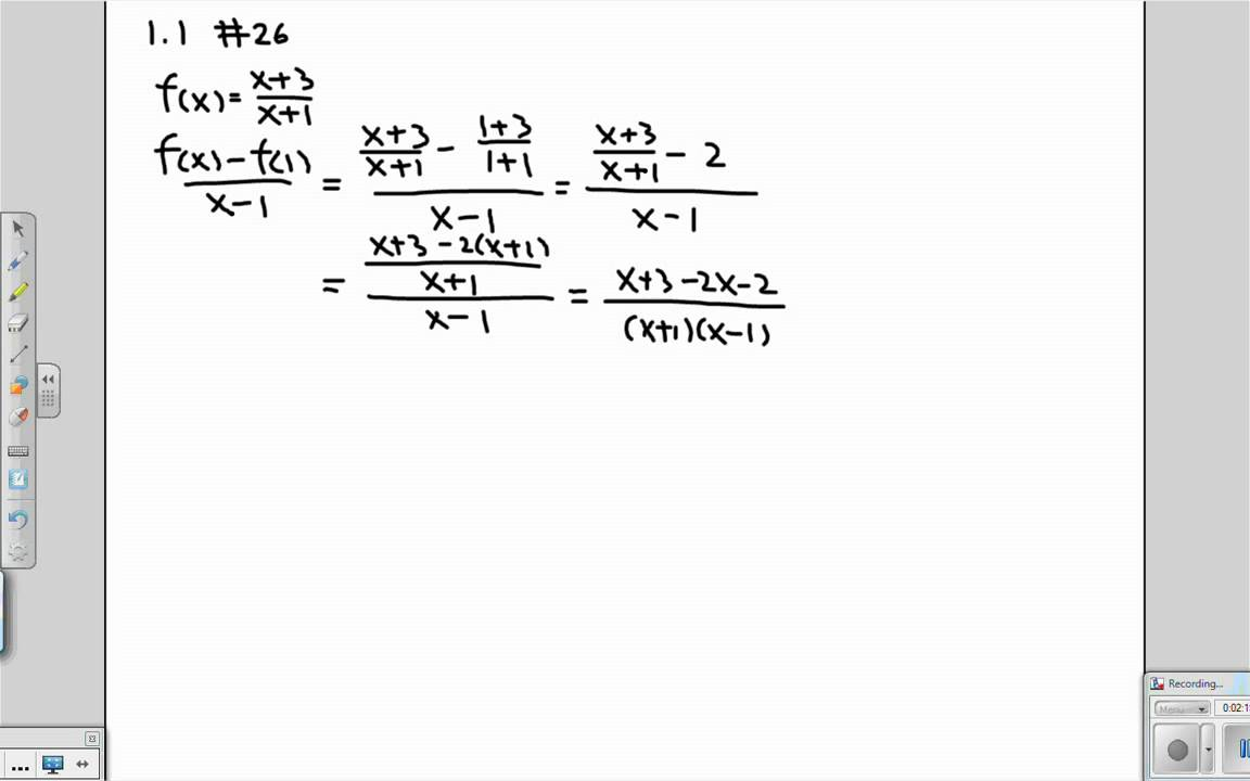 Find the Equation of a Line Given That You Know Its Slope and Y-Intercept