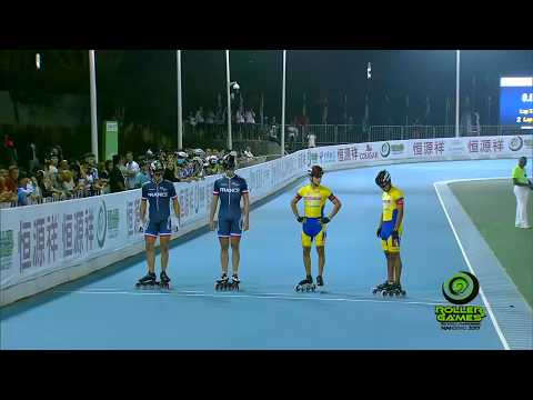 World Roller Games 2017 - Speed Skating - Final - JUNIOR Men 500M