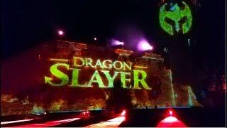 Warwick Castle Dragon Slayer Vlog August 2019