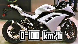 Kawasaki ninja 300 Test Ride + Stunt