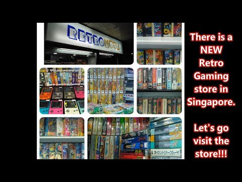 || Retronutz || Singapore ONE and ONLY Retro Games Store!!