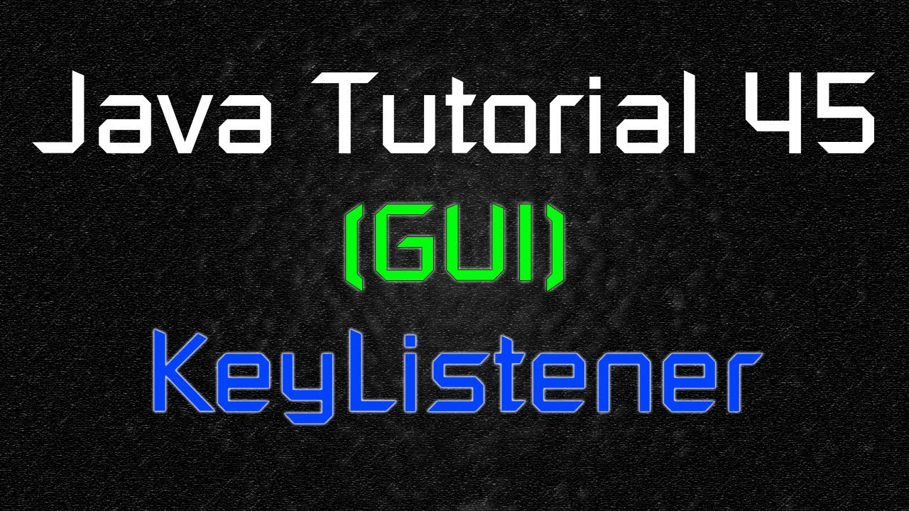Java tutorial 45 gui moving object with keyboard inputs java tutorial 45 gui moving object with keyboard inputs keylistener youtube baditri Image collections
