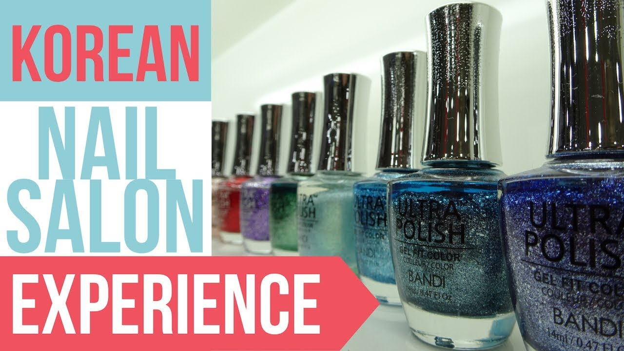 korean nail salon art experience