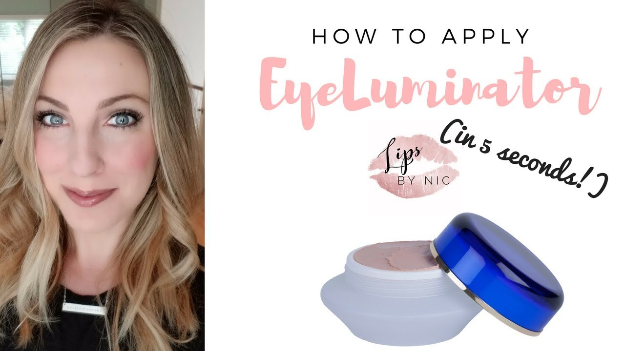 How To Apply Eyeluminator In 5 Seconds Anti Aging Secret Weapon