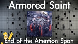 Armored Saint - End of the Attention Span (Guitar Cover)