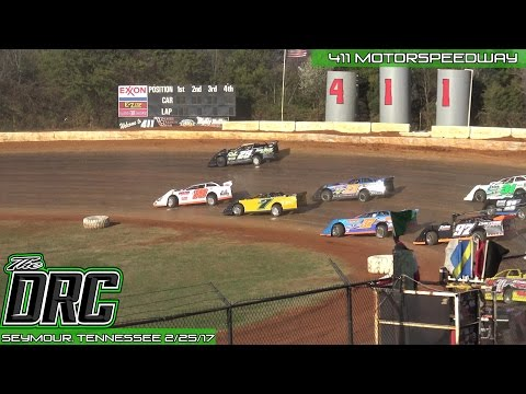411 Motor Speedway | 2.25.17 | Frostbuster | Super Late Models | Frostbuster 40