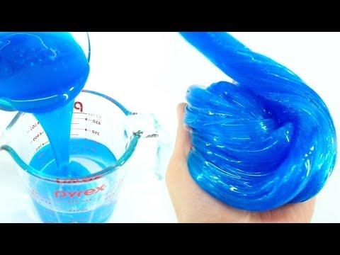 Как сделать слайм из силикатного клея без тетрабората натрия
